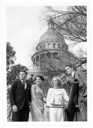 [Charles Wilson outside Texas Capitol]