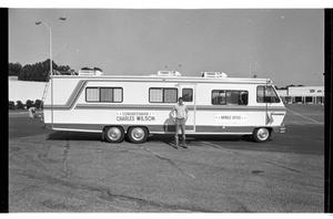 [Charles Wilson and his Mobile Office 1979]