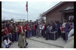 [Charles Wilson at Deweyville Post Office]