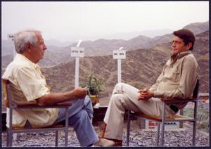 Primary view of object titled '[Harry Reasoner Interviews Charles Wilson in Pakistan]'.