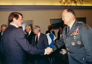 [Charles Wilson and General Norman Schwarzkopf]