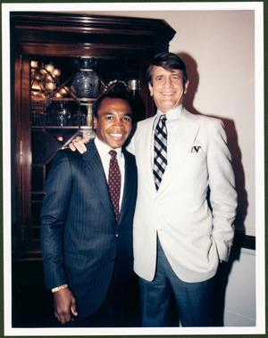 Primary view of object titled '[Charles Wilson and Sugar Ray Leonard]'.