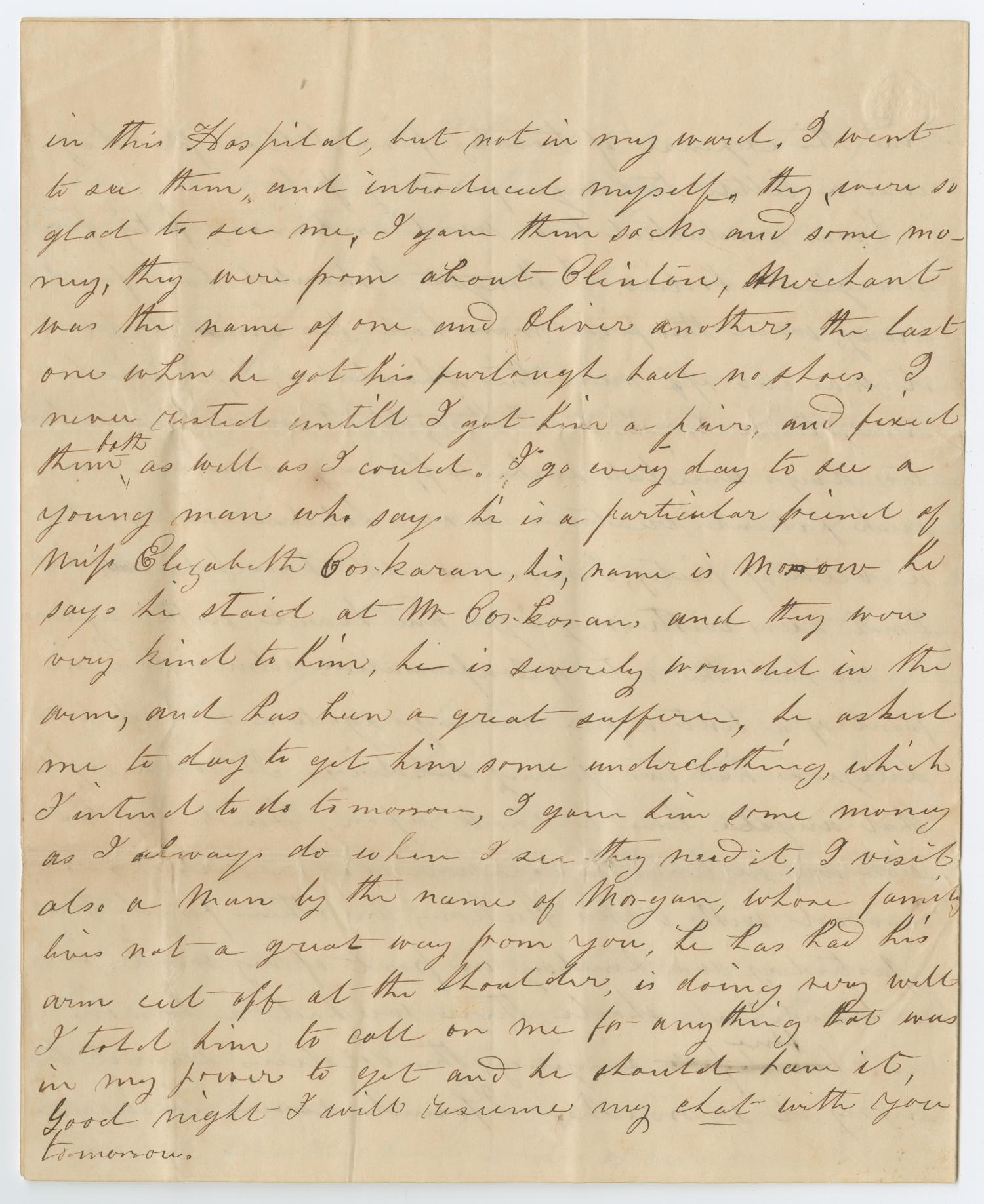 [Letter from S. C. Page, September 24, 1864]                                                                                                      [Sequence #]: 4 of 8