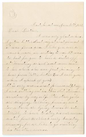 [Letter from Gertrude Osterhout to Paul Osterhout, June 30, 1881]