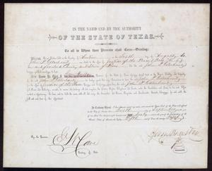 [Certificate of the Election to Justice of the Peace for John Patterson Osterhout]