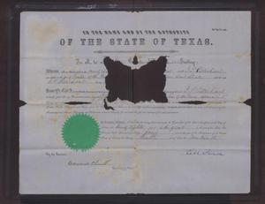 [Certificate of Appointment to Notary Public for John Patterson Osterhout]