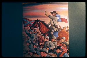 Primary view of object titled '[Photo of a Painting of Confederate Soldiers]'.