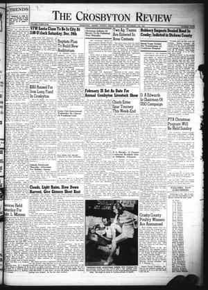 The Crosbyton Review. (Crosbyton, Tex.), Vol. 41, No. 50, Ed. 1 Thursday, December 15, 1949
