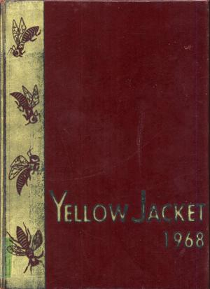 Primary view of object titled 'The Yellow Jacket, Yearbook of Thomas Jefferson High School, 1968'.