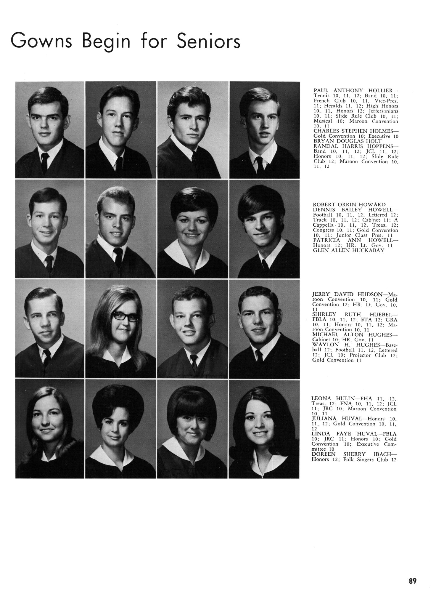 The Yellow Jacket Yearbook of Thomas Jefferson High School 1969