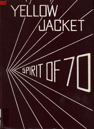 Primary view of object titled 'The Yellow Jacket, Yearbook of Thomas Jefferson High School, 1970'.