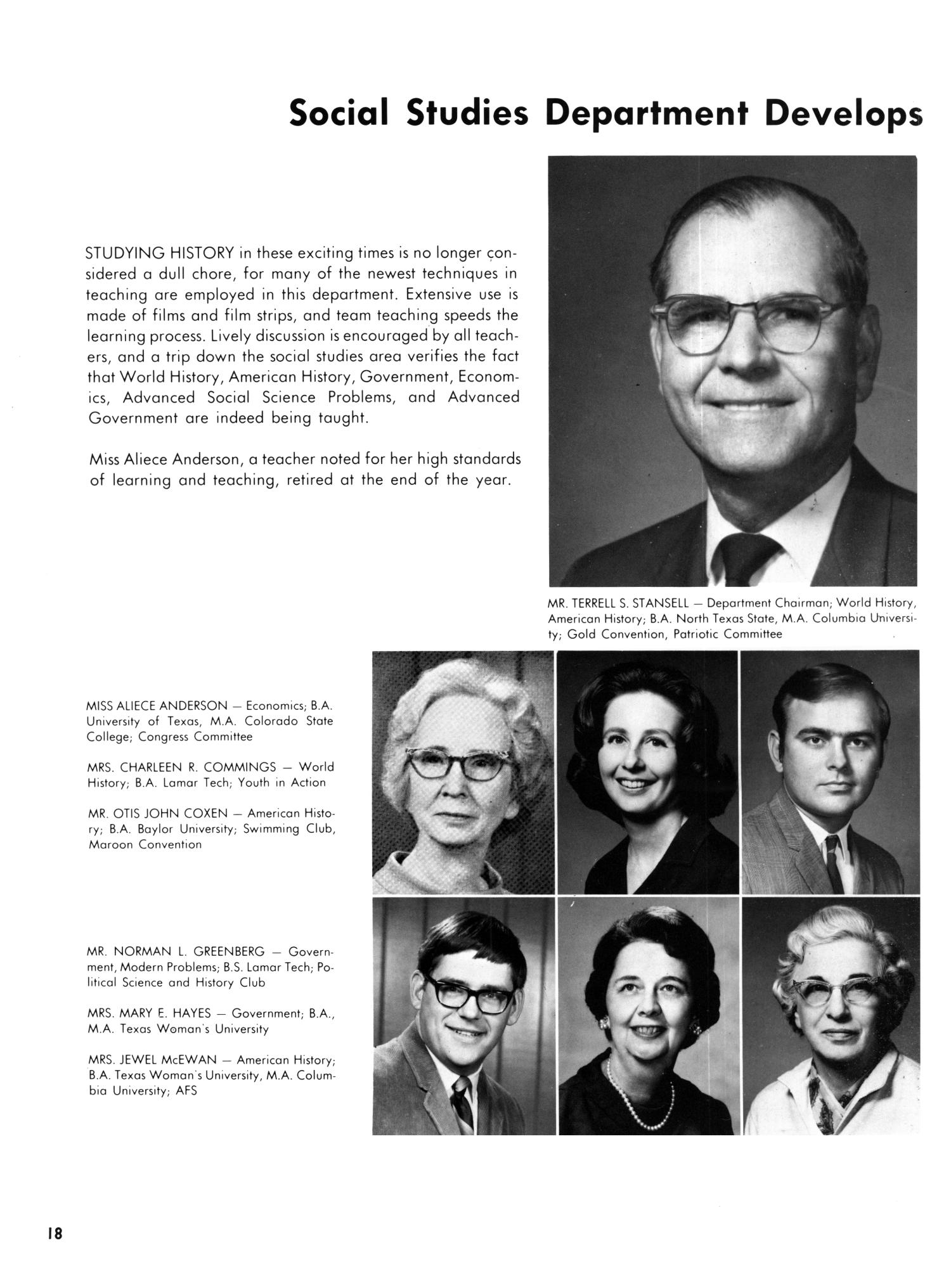 The Yellow Jacket, Yearbook of Thomas Jefferson High School, 1970                                                                                                      18