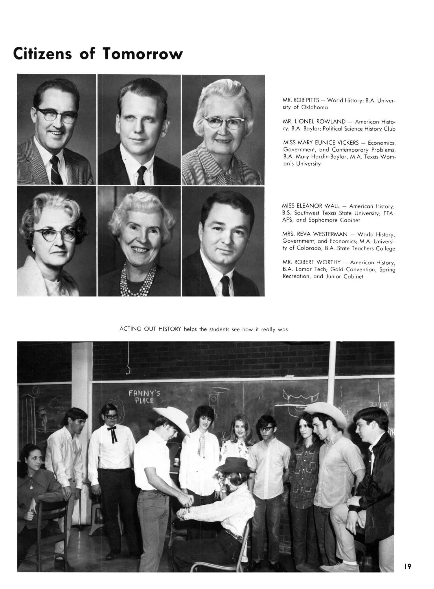 The Yellow Jacket, Yearbook of Thomas Jefferson High School, 1970                                                                                                      19