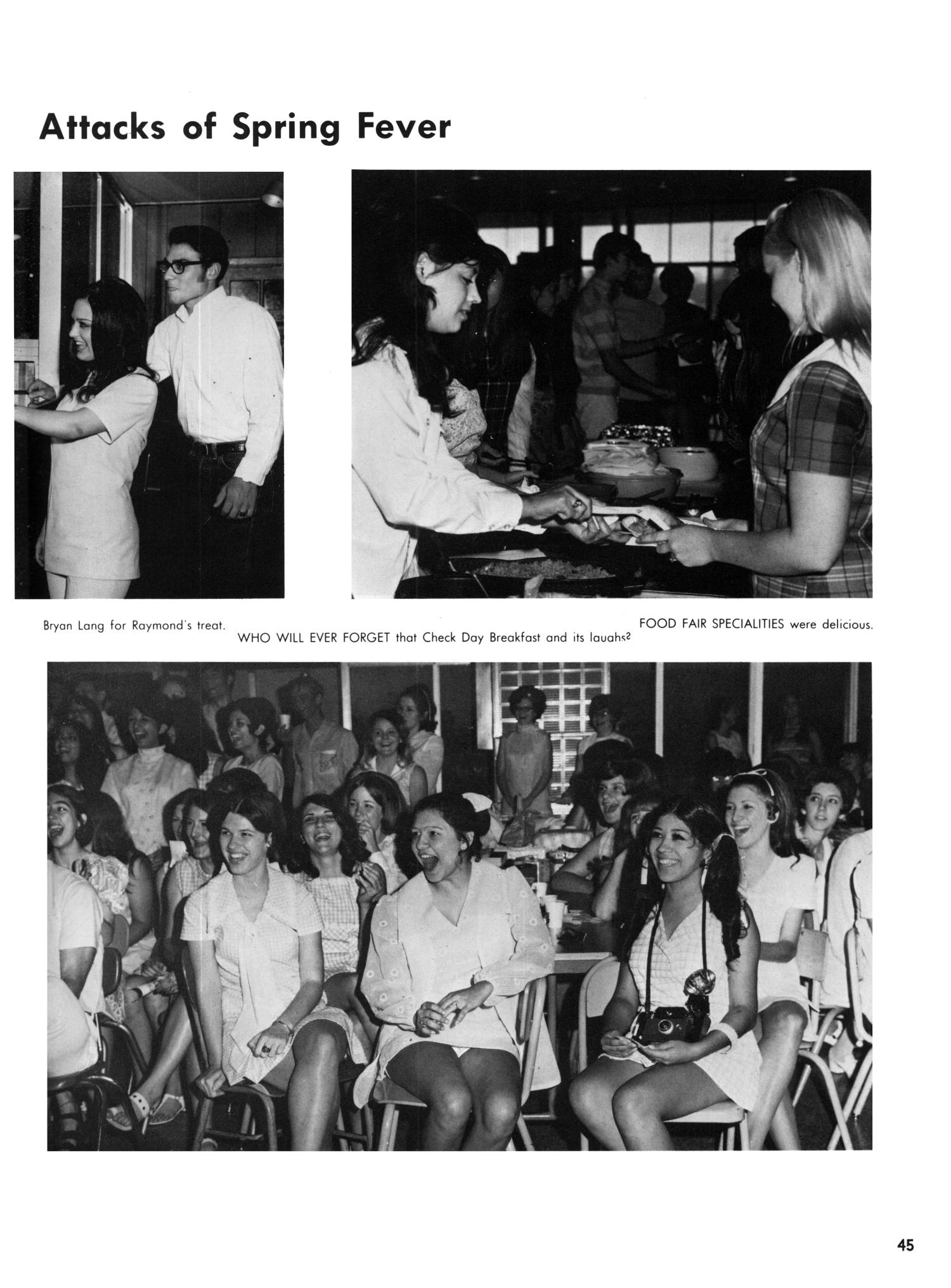 The Yellow Jacket, Yearbook of Thomas Jefferson High School, 1970                                                                                                      45
