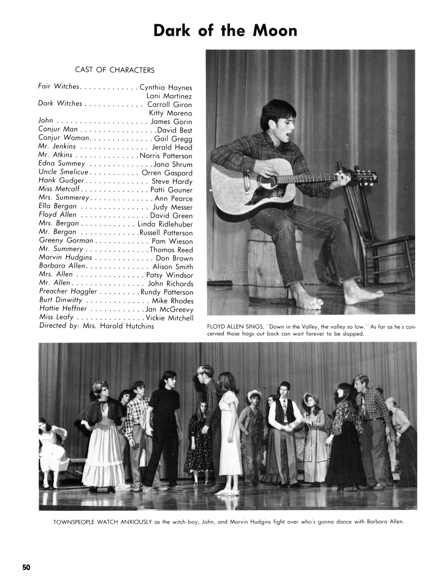 The Yellow Jacket, Yearbook of Thomas Jefferson High School, 1970                                                                                                      50