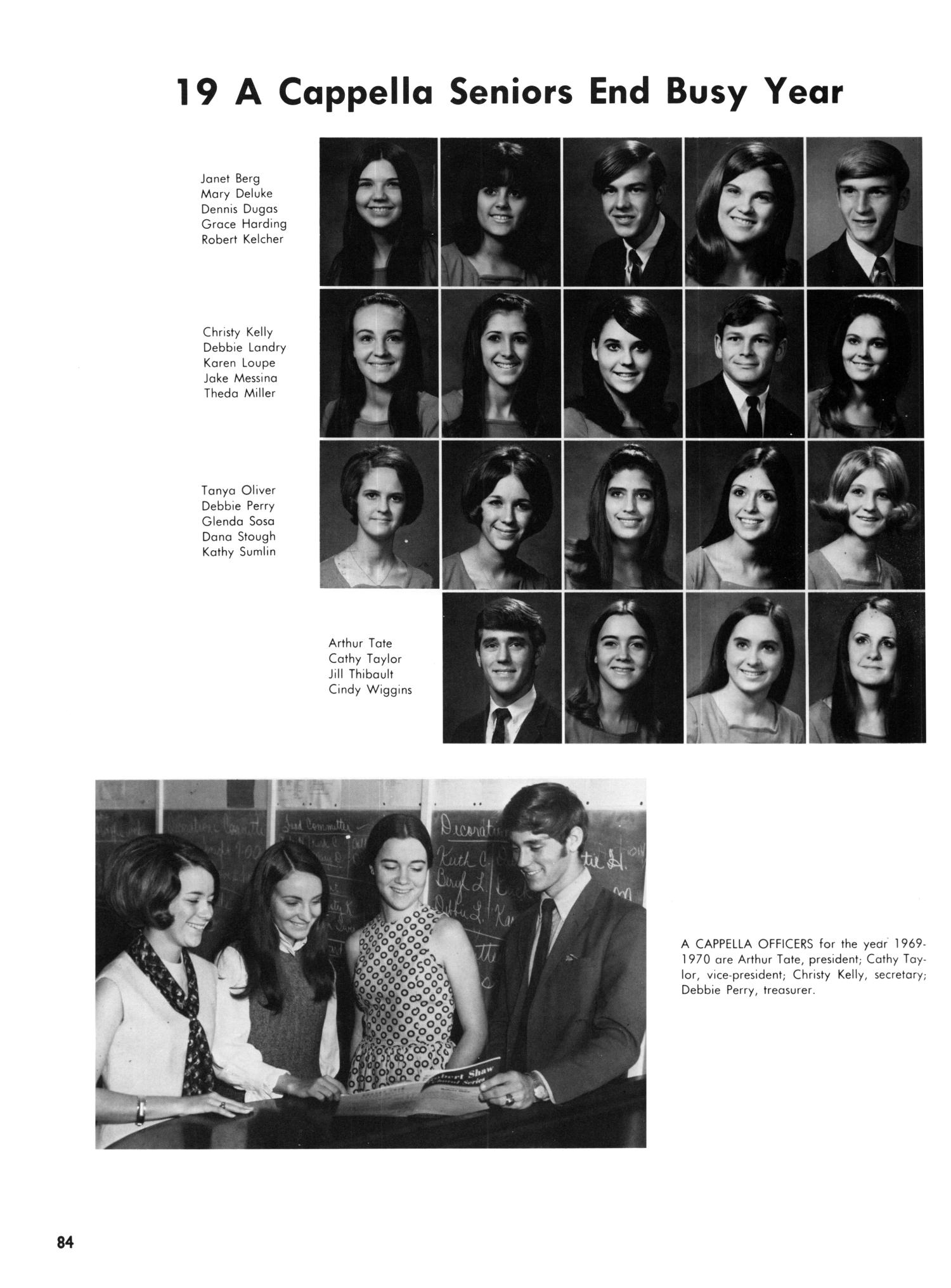 The Yellow Jacket, Yearbook of Thomas Jefferson High School, 1970                                                                                                      84