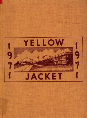 Primary view of object titled 'The Yellow Jacket, Yearbook of Thomas Jefferson High School, 1971'.