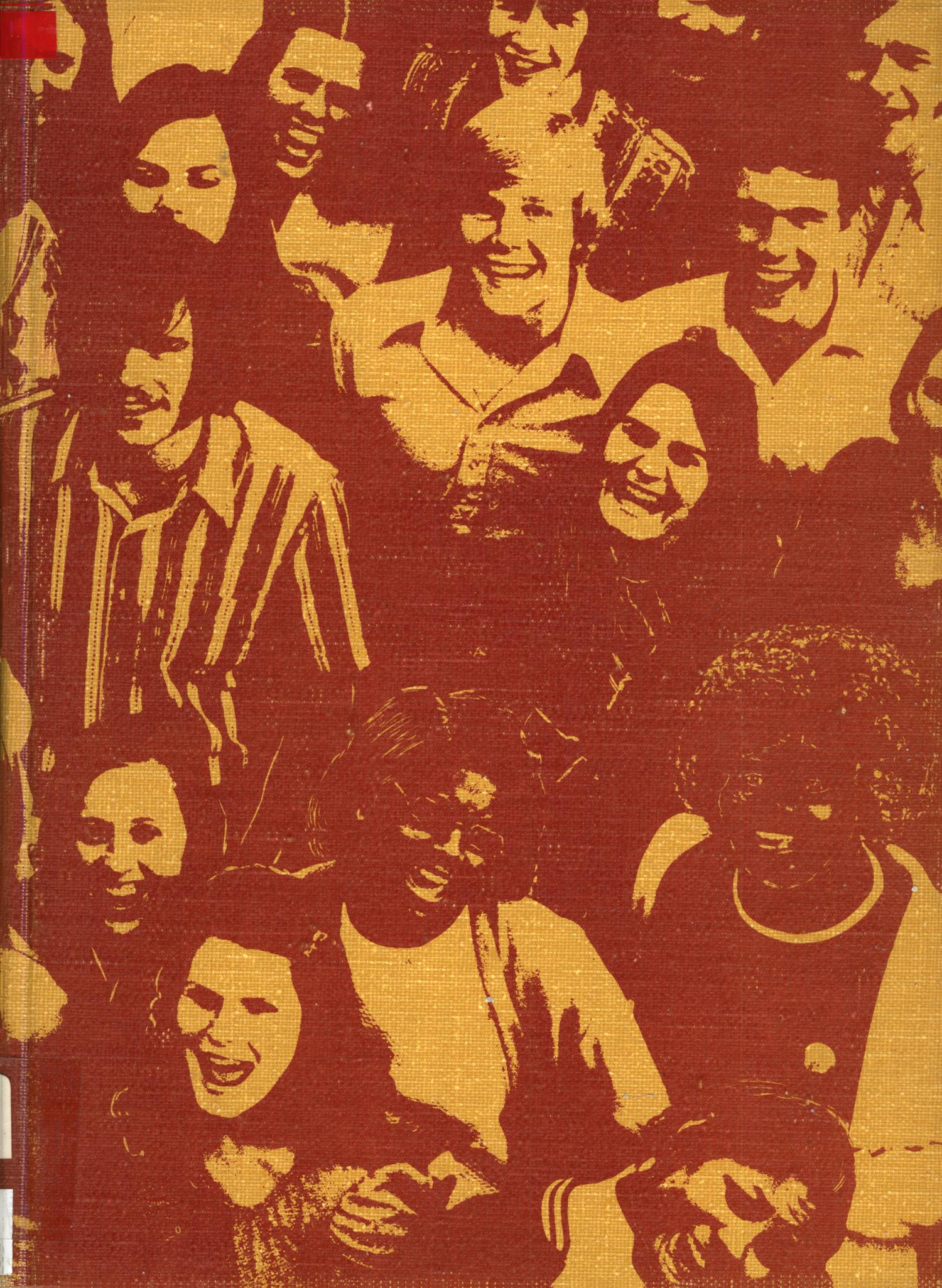 The Yellow Jacket, Yearbook of Thomas Jefferson High School, 1972                                                                                                      Front Cover