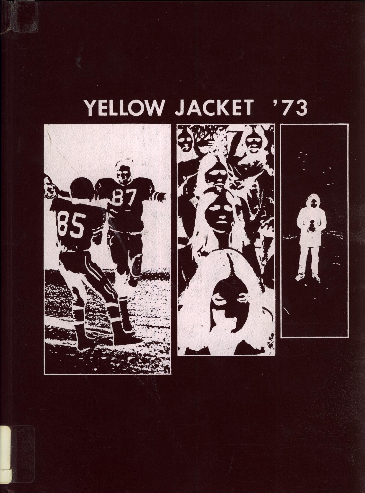 The Yellow Jacket, Yearbook of Thomas Jefferson High School, 1973                                                                                                      Front Cover