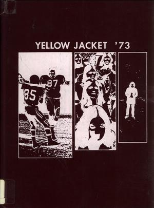 Primary view of object titled 'The Yellow Jacket, Yearbook of Thomas Jefferson High School, 1973'.
