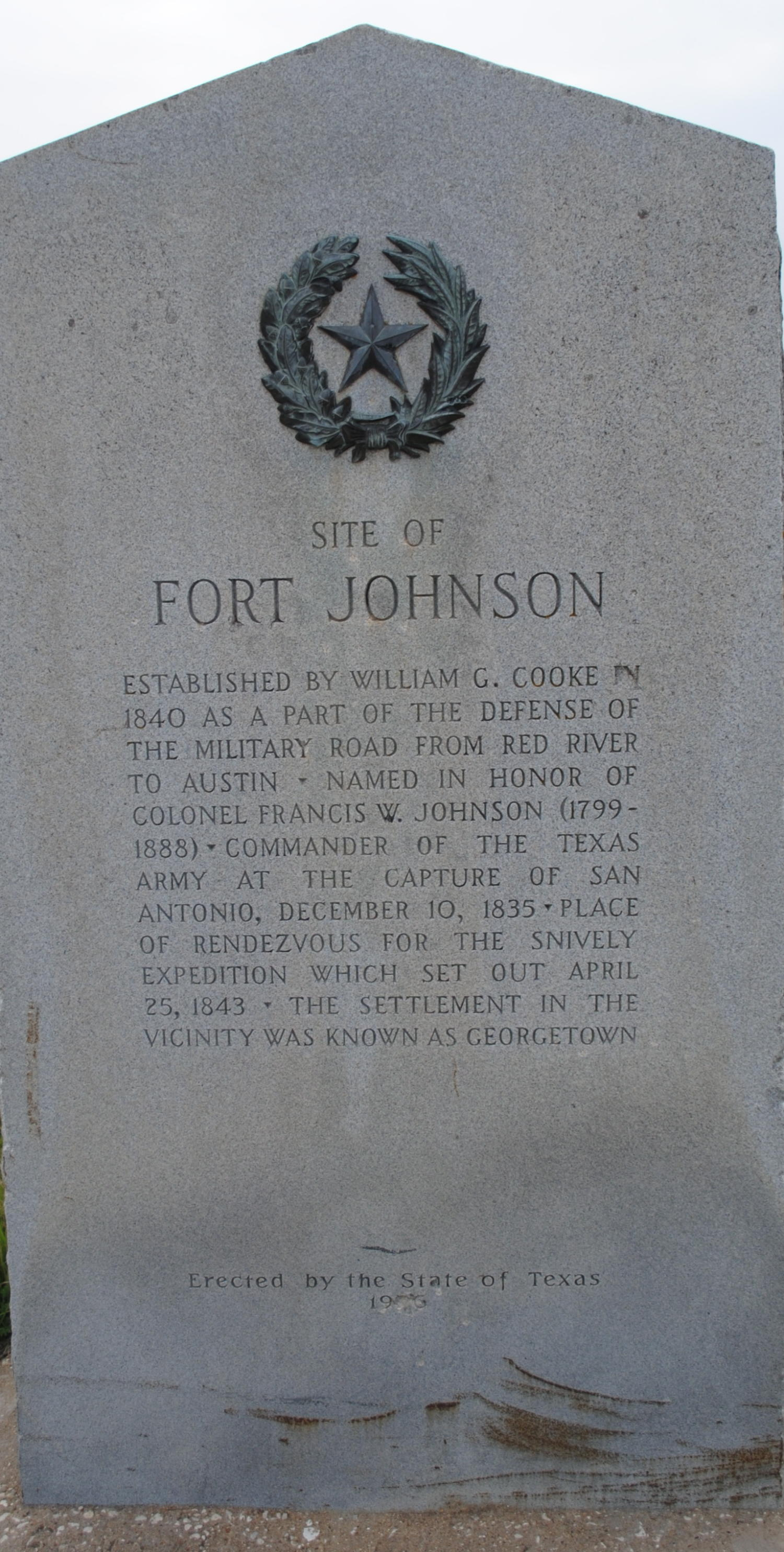 [Marker: Fort Johnson]                                                                                                      [Sequence #]: 1 of 1