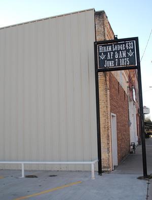 [Photograph of Hiram Lodge No. 433, A.F. & A.M.]