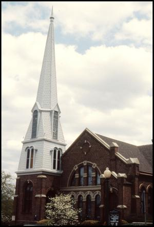 Primary view of object titled '[410 Avenue A - First Presbyterian Church]'.