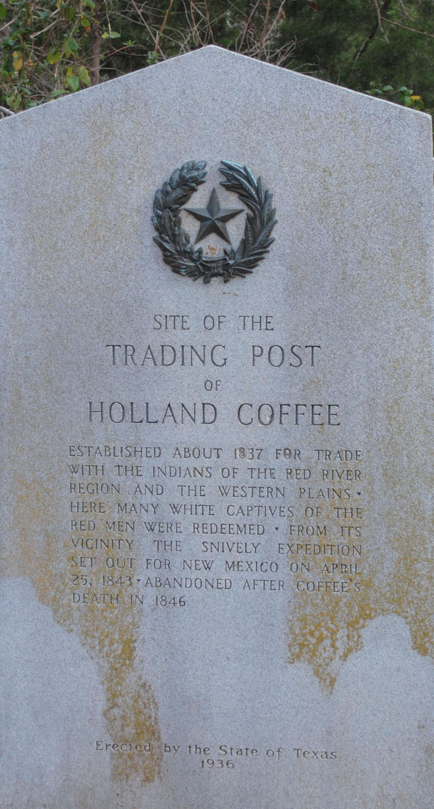 [Marker: Trading Post of Holland Coffee]                                                                                                      [Sequence #]: 1 of 1