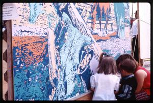 [Coloring Mural at Dogwood Festival]