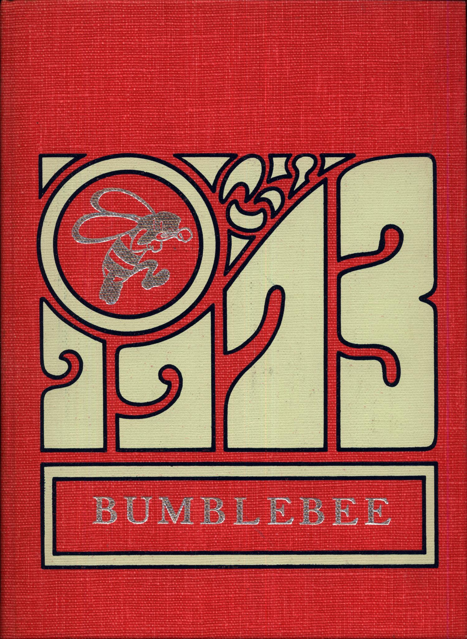 The Bumblebee, Yearbook of Lincoln High School, 1973                                                                                                      Front Cover