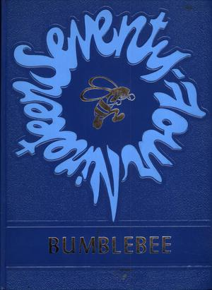 The Bumblebee, Yearbook of Lincoln High School, 1974