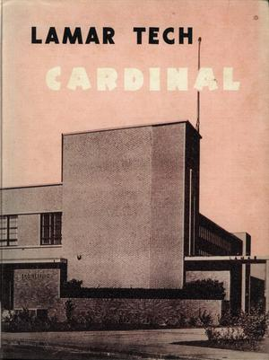 Primary view of object titled 'The Cardinal, Yearbook of Lamar State College of Technology, 1954'.