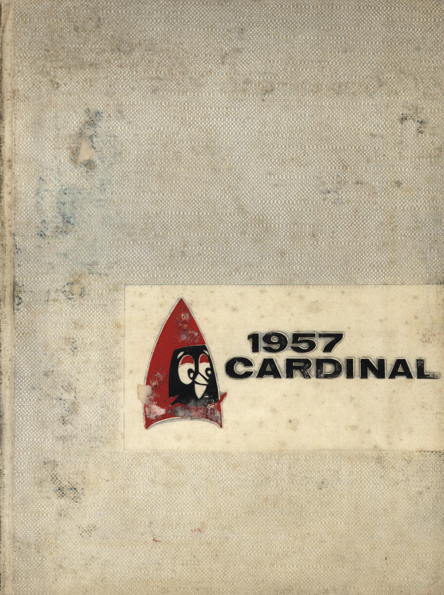 The Cardinal, Yearbook of Lamar State College of Technology, 1957                                                                                                      Front Cover