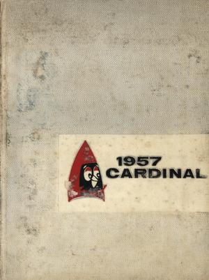 Primary view of object titled 'The Cardinal, Yearbook of Lamar State College of Technology, 1957'.
