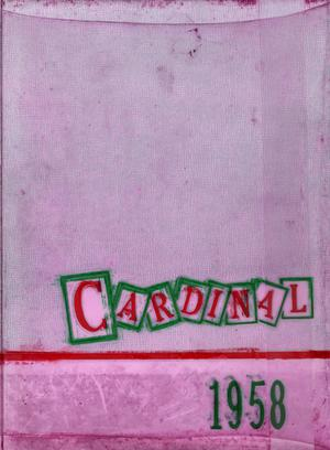 The Cardinal, Yearbook of Lamar State College of Technology, 1958