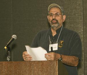 [George Guillen at TCAFS Annual Meeting]