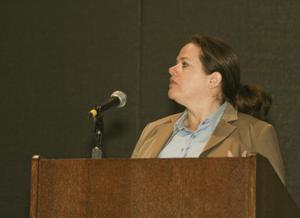 [Leslie D. Hartman Speaking at TCAFS Annual Meeting]