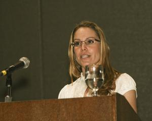[Kristy Kollaus Speaking at TCAFS Annual Meeting]