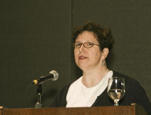 [Deborah Overath Speaking at TCAFS Annual Meeting]