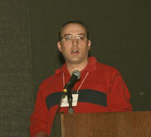 [Matt VanLandeghem Speaking at TCAFS Annual Meeting]