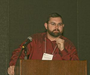 [Aaron Urbanczyk Speaking at TCAFS Annual Meeting]