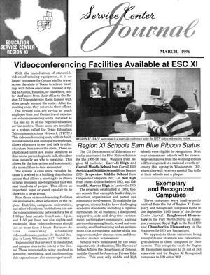 Service Center Journal, Volume 29, Number 2, March 1996