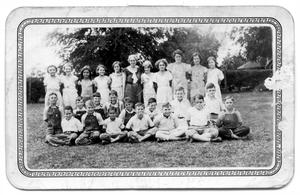 Primary view of object titled '[Group of Children]'.
