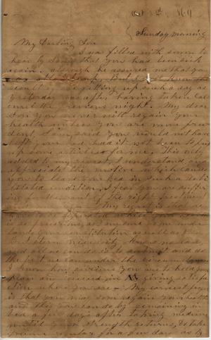 Letter to Cromwell Anson Jones, [3 October 1869]