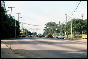 Primary view of object titled '[Intersection of Crockett Road and Park Avenue]'.