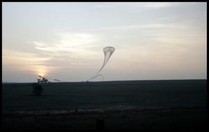 Primary view of object titled '[Weather Balloon - Anderson County]'.