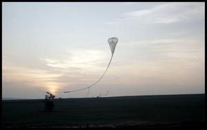 Primary view of object titled '[Weather Balloon Launch - Anderson County]'.