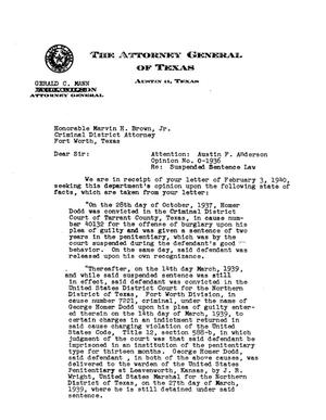 Primary view of object titled 'Texas Attorney General Opinion: O-1936'.