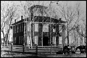 Primary view of object titled '[Second Anderson County Courthouse]'.