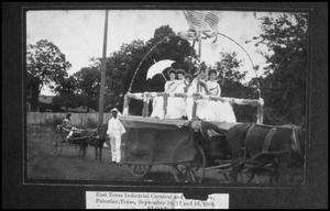 Primary view of object titled '[Float in the East Texas Industrial Carnival Parade]'.